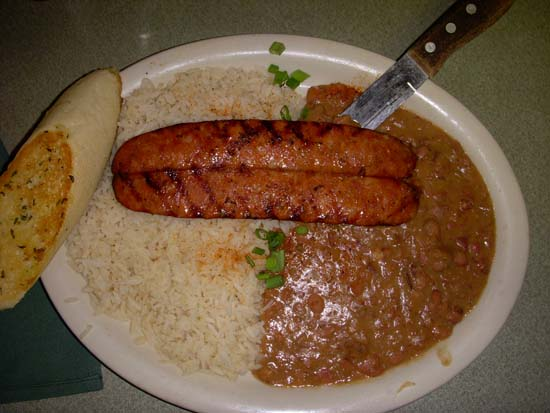 Red Beans And Rice With Andouille Sausage Recipe — Dishmaps