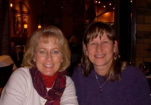 Lori and Donna